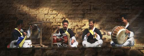 Samulnori: 4 incredible musicians