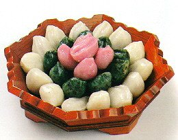 Songp'yon, traditional rice cakes